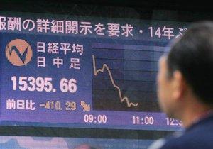 Азиатские рынки открылись падением в среднем на 2%